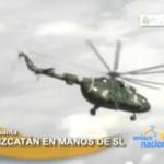 Atacaron en el Vizcatán helicóptero donde viajaba jefe del Comando Conjunto de las Fuerzas Armadas