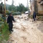 Senamhi declara en alerta naranja a nueve regiones por lluvias y vientos fuertes hasta el martes