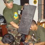Policía Antidrogas detuvo a cuatro personas con casi 10 kilos de clorhidrato de cocaína en Tingo María