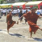 Celebran XIX aniversario de Kimbiri con un imponente desfile multisectorial