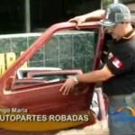 Policía incautó autopartes de vehículos robados