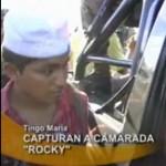 """Capturaron a mando senderista """"Rocky"""""""