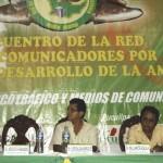Inauguran VI encuentro de la Red de Comunicadores por el Desarrollo de la Amazonía