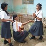 Escolares de Aucayacu escenifican obras con temas de narcotráfico, pandillaje y defensa del medio ambiente