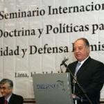Ministro Flores-Aráoz sugiere deducir del 50% del canon del Gobierno el 5% para las Fuerzas Armadas