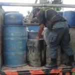 Incautan más de mil galones de combustible ilegal en la carretera Fernando Belaunde Terry