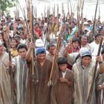 Paro indígena en Iquitos dejó 14 heridos por impacto de perdigones y 19 detenidos