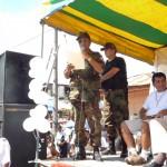 Jefe del Frente Policial Huallaga encabezó multitudinaria marcha por la paz