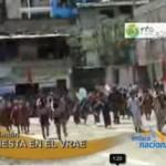 Imponente desfile multisectorial en aniversario de Kimbiri