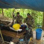 Policía Antidrogas interviene cinco laboratorios de elaboración de pasta básica de cocaína en San Miguel, Ayacucho