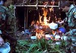 Policía Antidrogas destruyó catorce laboratorios de droga en el VRAE y neutralizó 120 kilos de PBC