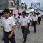Miles de escolares, profesores y padres de familia de Aucayacu participarán en Marcha por la Paz