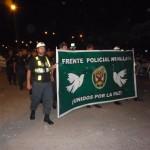 Población e instituciones de Tingo María marcharon por la paz