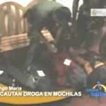 Detuvieron a cuatro personas con casi 10 kilos de clorhidrato de cocaína