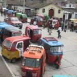 Sólo 800 vehículos menores podrán circular en la provincia de Huamanga