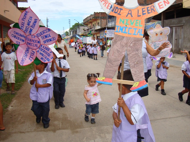 del Alto Huallaga recordaron aniversario de la Educación Inicial