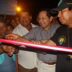 Más de 3, 500 pobladores se benefician con inauguración de puente Las Mercedes en Manantay