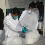 Incineran cerca de tres toneladas y media de droga incautada en operativos antidrogas