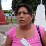 Dirigente cocalera Rosa Obregón fue conducida a la comisaría a declarar sobre muerte de Deodora Espinosa