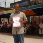 COFOPRI entrega 146 títulos de propiedad a pobladores de Aguaytía