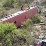 Despiste de ómnibus deja 16 muertos y 38 heridos en Junín