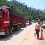Tras paro de 48 horas nativos cacataibos desbloquean carretera Federico Basadre y se retiran a sus comunidades