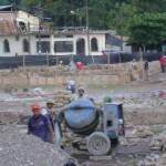 Continúan observaciones en construcción de Plaza Mayor de Aguaytía