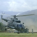 Ataque senderista a helicóptero en el Vizcatán deja un militar muerto y seis heridos