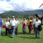 Instituciones del Estado, Defensoría del Pueblo y Región Militar VRAE visitaron comunidad de Sanabamba