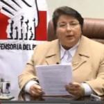 Defensora del Pueblo y Presidente de la Conferencia Episcopal lamentaron violencia en Bagua