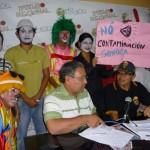 Estudiantes participaron en campaña contra contaminación sonora y visitaron Jardín Botánico en Tingo María