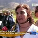 "Ministra de la Mujer lanzó programa ""Mi Chacra productiva"" en Huancavelica"
