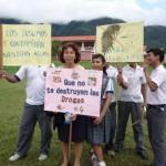 Coalicionarios de Tingo María se comprometen a prevenir consumo de drogas en niños y jóvenes
