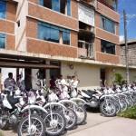 Entregan 19 motocicletas a centros de salud de provincias de Leoncio Prado, Puerto Inca y Huamalíes