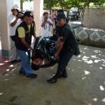 """Presuntos sicarios asesinan de siete balazos a """"mochilero"""" en el Alto Huallaga"""