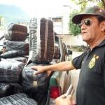 Policía incauta cerca de media tonelada de hoja de coca destinada a banda de narcos de Huánuco