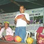 PDA promueve la producción de 100 hectáreas de cacao en distritos de Ucayali
