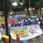 Lanzan Coaliciones Comunitarias Antidrogas en la ciudad de Huánuco
