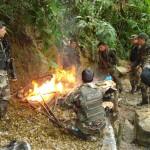 Policía Antidrogas destruye dos laboratorios de elaboración de PBC y descubre nueva modalidad para exportar droga