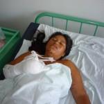Agricultora de Aucayacu pierde tres dedos de la mano luego de manipular un explosivo