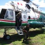 Parten refuerzos del Frente Policial Huallaga hacia Aguaytía