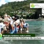 Distrito de Kimbiri realizó repoblamiento de peces en río Apurímac