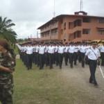 Más de 300 jóvenes, 25 de ellos nativos, se graduaron como policías en el VRAE