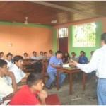 PDA realiza taller con promotores y voceros comunitarios en Juanjuí