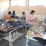 Bus de León de Huánuco se volcó en la madrugada y dejó 42 heridos