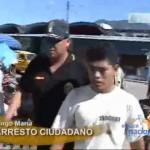 Primer caso de arresto ciudadano