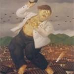 Exhibirán dibujos y pinturas de Fernando Botero sobre narcotráfico