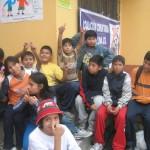 """Niños y adolescentes de San Juan de Miraflores dijeron """"No a las drogas"""""""