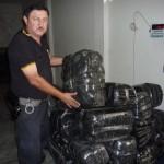 Policía de Cayumba incautó más de 200 kilos de hoja de coca seca el último fin de semana
