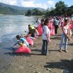 Alumnos del VRAE intensifican recolección de botellas descartables para ganar concurso sobre medio ambiente